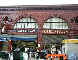 russell square metrostation wikipedia