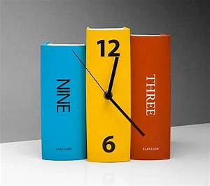 Creative Clocks By Karlsson Clocks - Bonjourlife