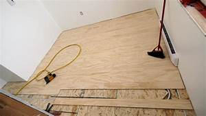 how to install and finish plywood flooring ibuilditca With can plywood be used as flooring