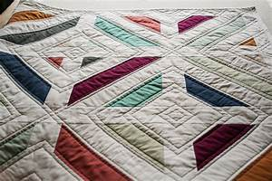 Beginner Quilting Craftsy Cozy Throw Quilt Right Side