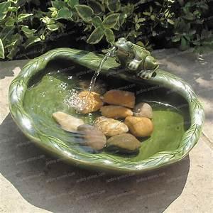 Fontaine Solaire Pour Bassin : fontaine solaire grenouille sujet fontaine pompe bassin ~ Dailycaller-alerts.com Idées de Décoration
