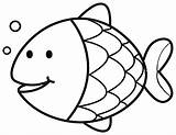 Goldfish Coloring Pages Printable Getcolorings sketch template