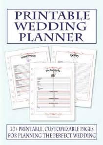 free wedding planner 9 best images of wedding planning printables printable wedding planner free printable wedding