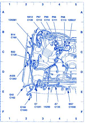 Ford Mustang Electrical Circuit Wiring Diagram