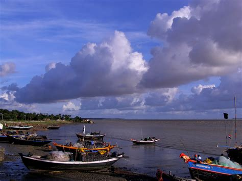 afternoon   river side  photo  west bengal
