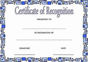 Award Certificate Template Microsoft Word 10 Downloadable Certificate Of Recognition Templates Free