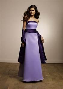 Purple Wedding Bridesmaid Dresses