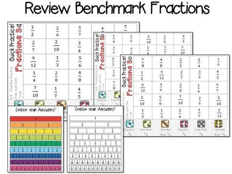benchmark fraction 12 worksheets comparing fractions