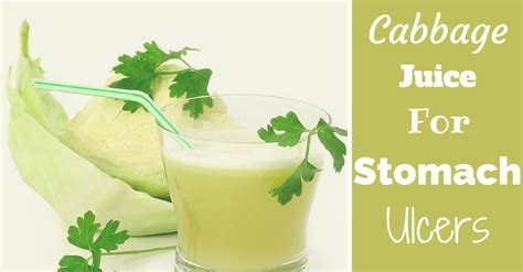 cabbage juice ulcers ulcer healthambition treatment apple recipes cider vinegar smoothie medicine juicing smoothies remedies probably doesn sound raw