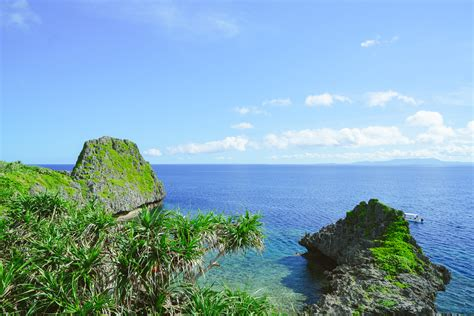 okinawa landscape  japan image  stock photo