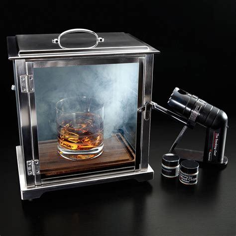 glass cocktail table crafthouse cocktail box with smoke gun the green