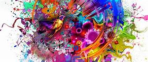 Abstract Colors Flashy Bird  Hd 4k Wallpaper