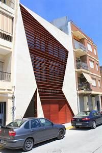 Brown, Facade, Design, Ideas, In, Modern, Style-calabuig, House, Facade