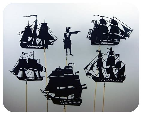 battle of trafalgar shadow puppet set shadow puppets