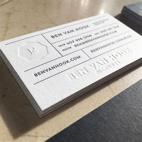 letterpress business cards super luxury business cards