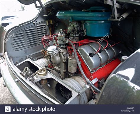 Air Cooled V8 by The Rear Mounted Air Cooled 2 5 Litre V8 Engine Of A Tatra