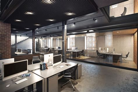 Workspace Designs For Modern Offices by Loft On Behance Office Modern Office Design Loft