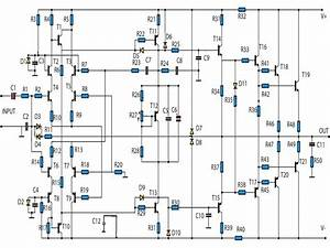 High Power Audio Lifier Schematics
