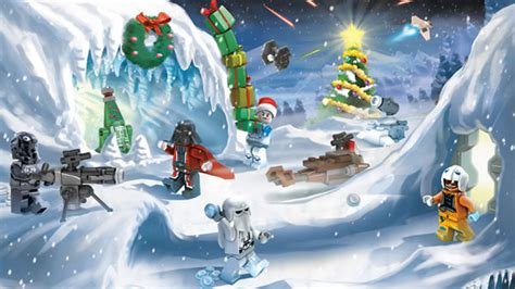 star wars advent calendar les mini films lego hoth bricks