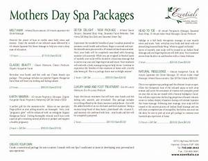 Mothers Day Spa Packages - Ezentials