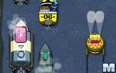 Divertidos juegos con este peculiar habitante de fondo de bikini, para colorear, conducir, explotar burbujas y juegos educativos para aprender. SpongeBob Delivery Dilemma - Microjogos.com