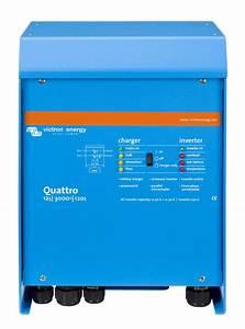 Victron Quattro 48v 3000watt 120vac Inverter  Charger