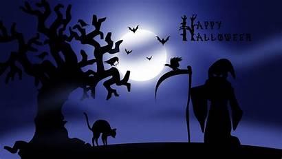 Halloween Happy Scary Wallpapers Night Desktop Spooky