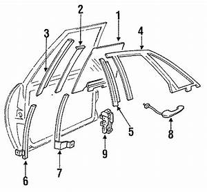 Buick Park Avenue Door Latch Assembly  Right  Models  Lock