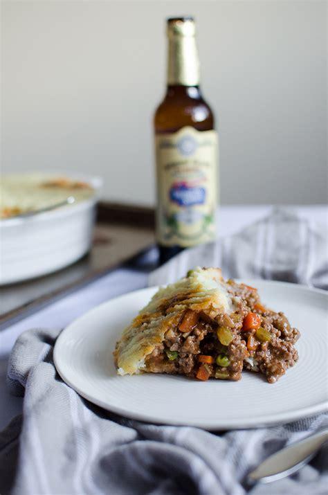 shepherds pie  beer gravy sprig  flours