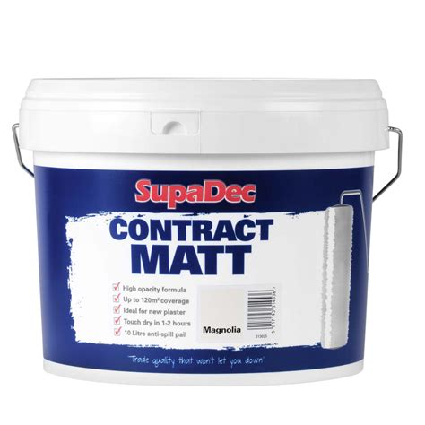 supadec contract matt emulsion paint stax trade centres