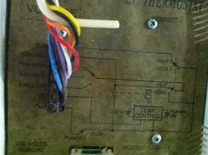 Replace 8 Wire Thermostat With A 6 Wire