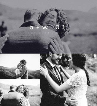 elegant black  white wedding lightroom preset