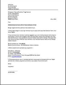 Contoh Surat Iringan Resume by Contoh Resume Dan Surat Permohonan Kerja Terkini