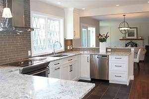 what39s trending in kitchen design cornerstone kitchens With kitchen colors with white cabinets with john lennon wall art