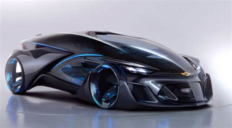 » Concept The Electric Car Chevrolet Fnr Future Technology