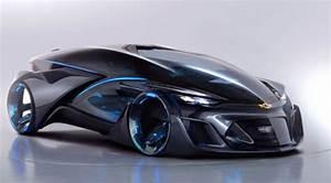 » Concept the electric car Chevrolet FNR Future technology