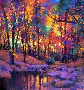 "Inner-Glow by Teresa Saia Pastel ~ 20"" x 20"" | Landscape ..."