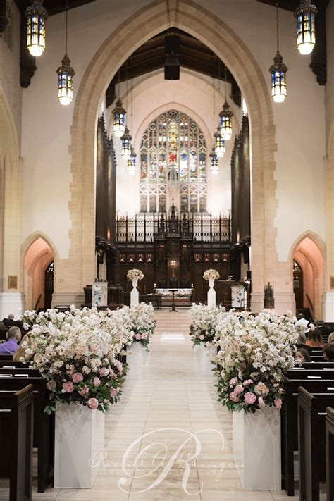 wedding decorations for the church ceremony