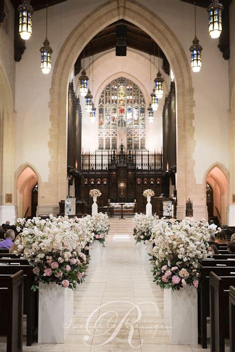 wedding decorations   church ceremony