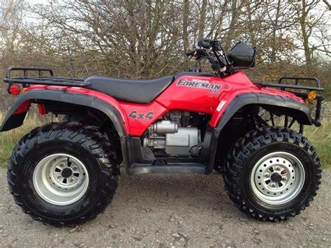 Honda Trx 450 4x4 Foreman Farm Quad Atv Polaris Grizzly