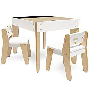 amazon com p kolino little modern tables and chairs white