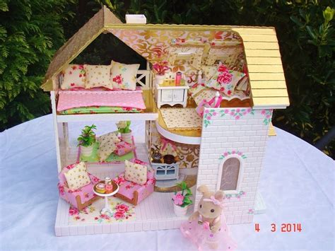 sylvanian families bluebell cottage sylvanian decorated cottage decorating and