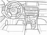 Coloring Rx Lexus Pdf sketch template