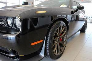 2016 Dodge Challenger SRT Hellcat Black with Red Interior