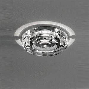 Franklite rf ip chrome finish crystal downlight