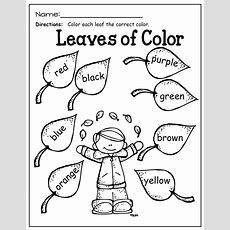 Color Words!  Homeschool Printables  Pinterest  Kindergarten, Worksheets And School