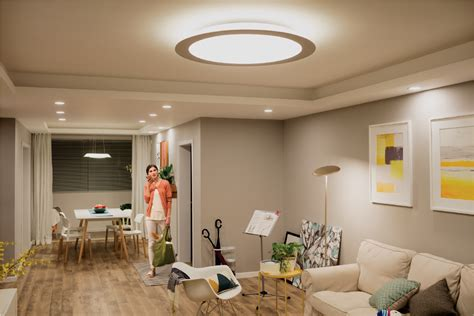 stylish living room lighting ideas meethue philips hue
