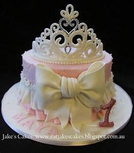 Lovely Baby Girl 1st Firs Birthday Cake | Pinterest - Baby ...