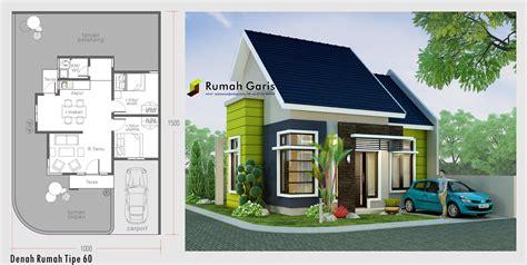 denah rumah minimalis tampak depan samping expo desain rumah
