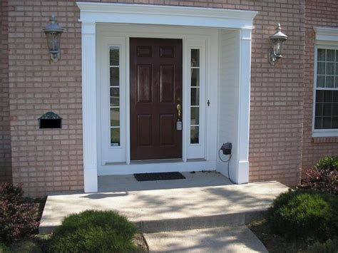 front door with sidelights hang a pre hang the front door with sidelights all